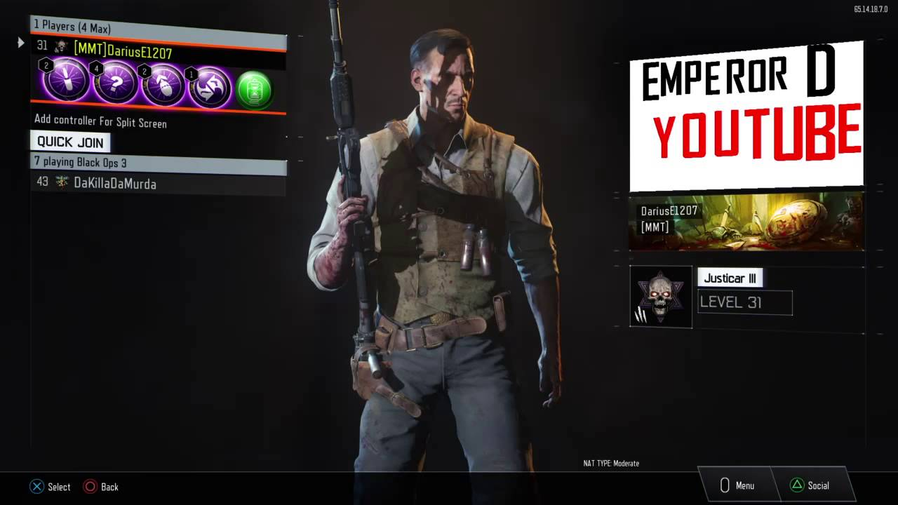 Emperor D Call of duty black ops 3 gameplay