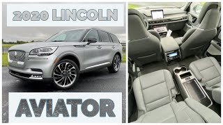 2020 Lincoln Aviator Review: Interior & Backseat