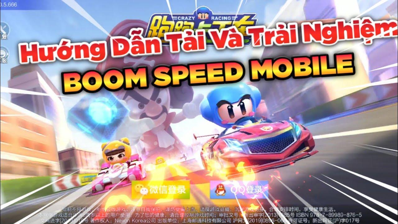 Trở Về Tuổi Thơ Với BOOM SPEED MOBILE : Hướng Dẫn Tải Cho Android / iOS (Crazy Racing)