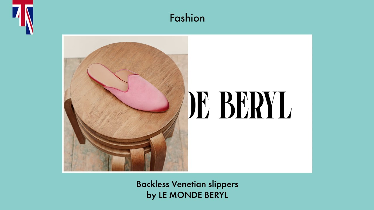 1940b6b98df5 The BORN in UK Awards 2018 - Fashion Prize  Papiro Fortuny Mules by Lily  Atherton and Katya Shyfrin