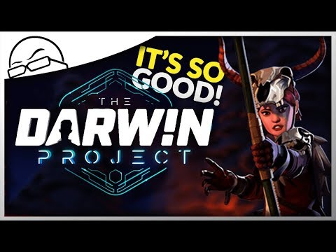 I'm HOOKED to this new Survival Battle Royale! - The Darwin Project