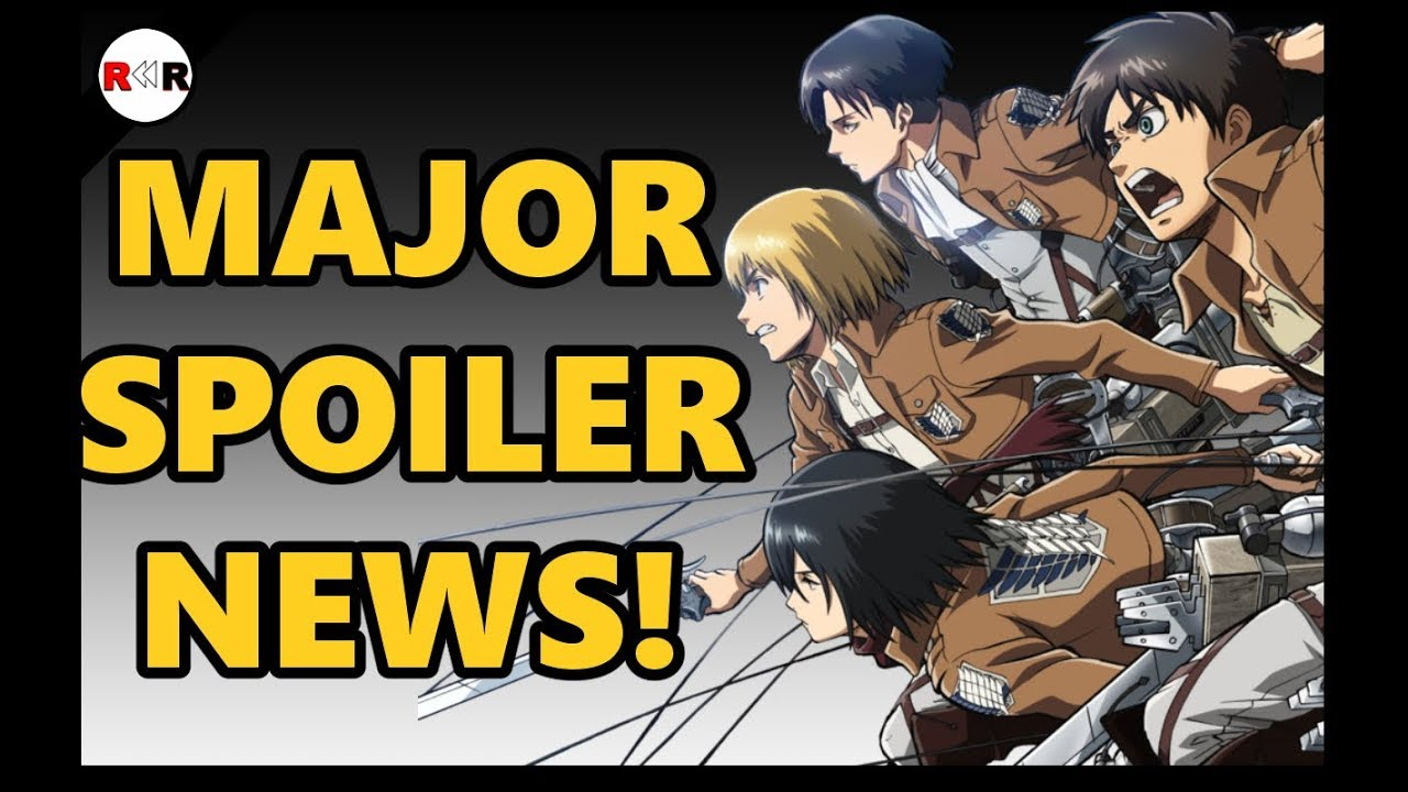 MAJOR SPOILERS ATTACK ON TITAN CHAPTER 105 - YouTube