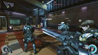 GitS: SAC - First Assault Online - Demolition Headquaters - Motoko 22kdr gameplay