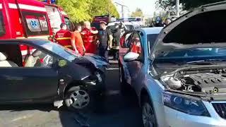 accident spectaculos in galati