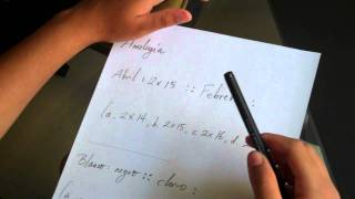 Video 2 Explicación de analogía 1