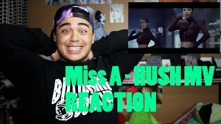miss a   hush mv reaction