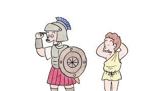 """コボちゃん漫画家が描く""""マラソンの起源""""が超シュール 植田まさし 検索動画 5"""