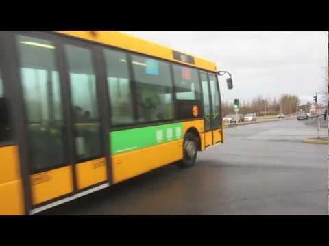 Buses in Reyjkavik, Iceland