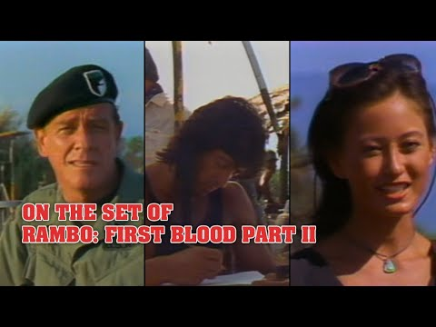 """Rambo: First Blood Part II"" – On-set interviews with the ..."