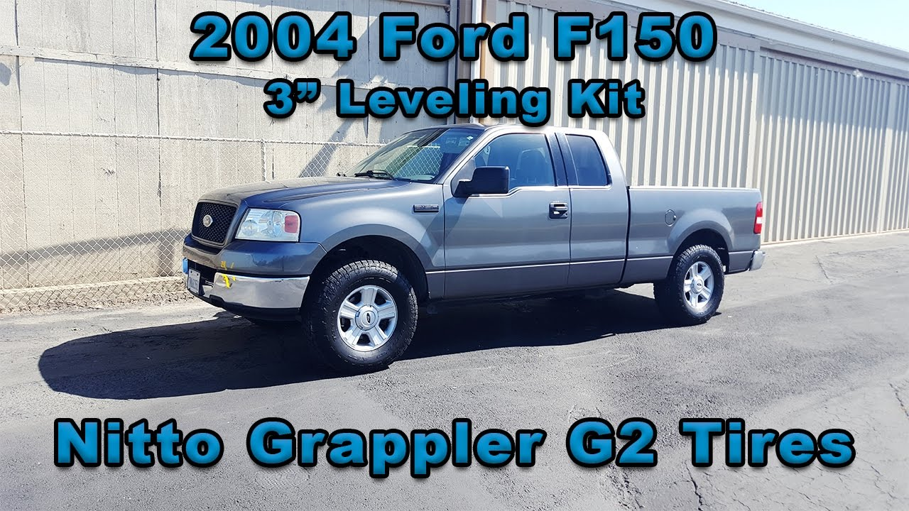 """2012 F150 Leveling Kit >> 2004 Ford F150 3"""" leveling kit - Clean Affordable Lift Alternative - YouTube"""