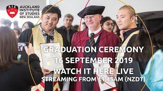 Auckland Institute of Studies Graduation Ceremony 2019
