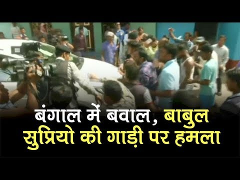 Violence In Bengal Election | Clash Between BJP And TMC Supporters at Asansol during polling