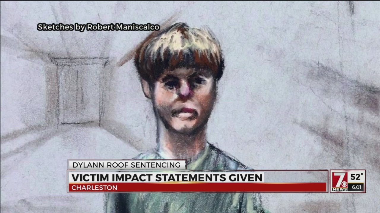 Dylann Roof Formally Sentenced To Death Youtube