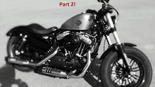 2016 Harley Davidson 48 Sportster XL1200X review Part 2