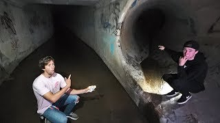 Discovered creepy tunnel and went inside..*wrong decision*