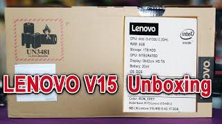 LENOVO V15 Laptop Unboxing || Review