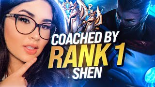 I Got A Challenger Shen to Coach Me | ft. XPETU
