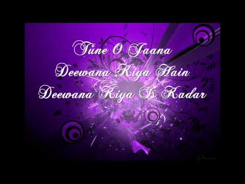 Kyon Ki Itna Pyar Tumko With Lyrics HD 720p - Kyon Ki ( Happy Aulakh )