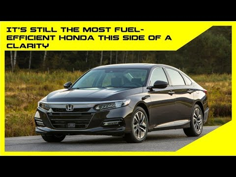 2018 Honda Accord Hybrid fuel economy revealed, slightly less than old model