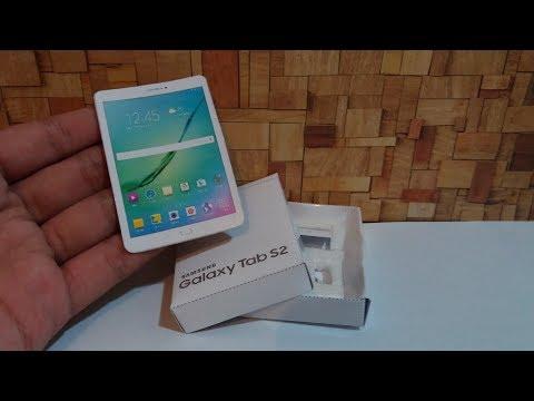 DIY Miniature Samsung Tab S2