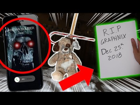 *RITUAL* I GOT THE GHOST OF CHRISTMAS FUTURE TO CALL ME AT 3 AM!! (HE SHOWED ME MY GRAVE!!)