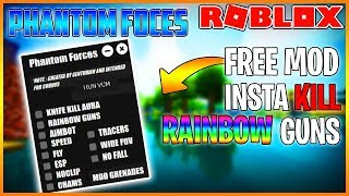 MENU MOD GRATUIT ROBLOX - PHANTOM FORCES - AIMBOT, KILL AURA, ESP AND MUCH MORE