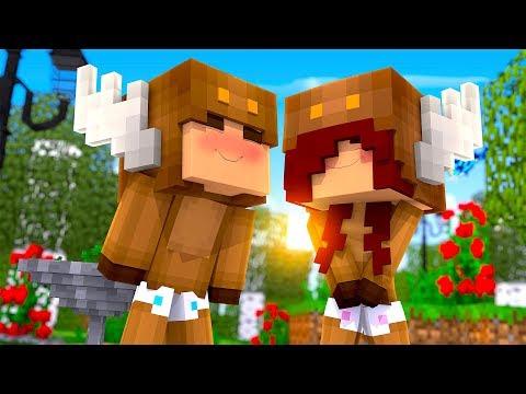 Minecraft Daycare - MY FIRST KISS! (MINECRAFT ROLEPLAY)