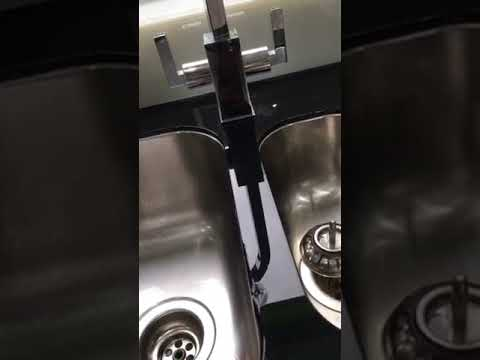 Alveus Sink from Olif bought from Wren Kitchens - YouTube