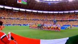 Himno Nacional México cantado a capela Brasil 2014
