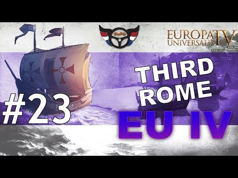 EU4 Third Rome - Russia into Roman Empire - ep23
