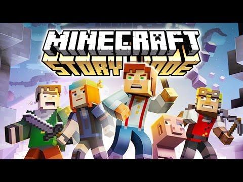 Minecraft Story Mode - Приключения начинаются! (Обзор)