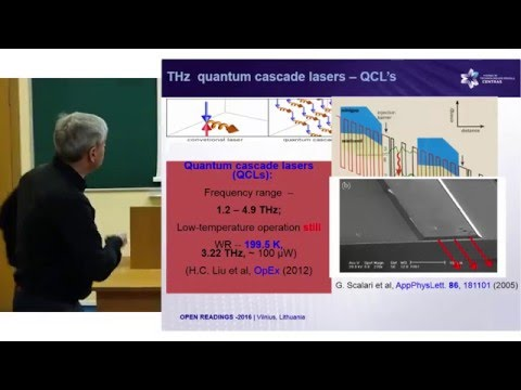 """Materials Solutions for Terahertz Technology"", Gintaras Valusis 
