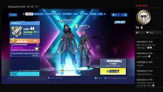 Fortnite Battle Royale this is the shop and level 100 skin level