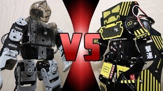 ROBOT DEATH BATTLE! - Bioloid VS Super Anthony (ULTIMATE ROBOT DEATH BATTLE!)