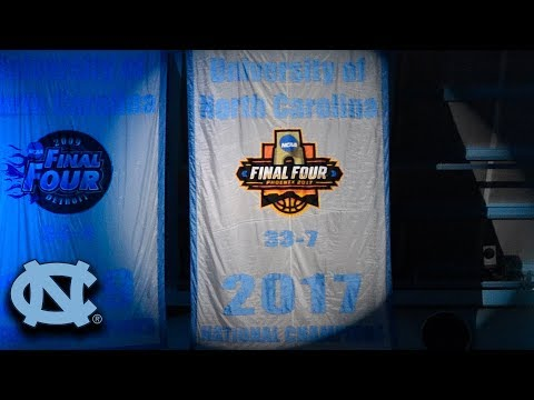 North Carolina Unveils Their Latest Championship Banner