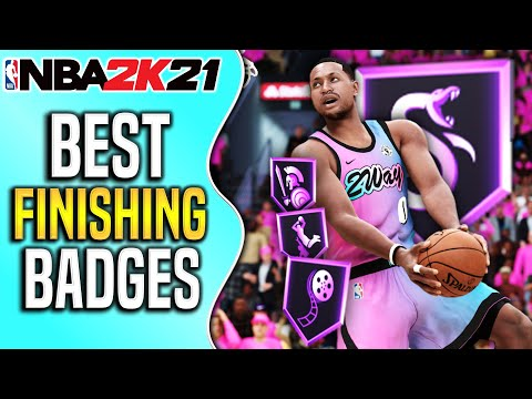 Best FINISHING Badges To Dominate The Rim | NBA 2K21 Best Finishing Badges