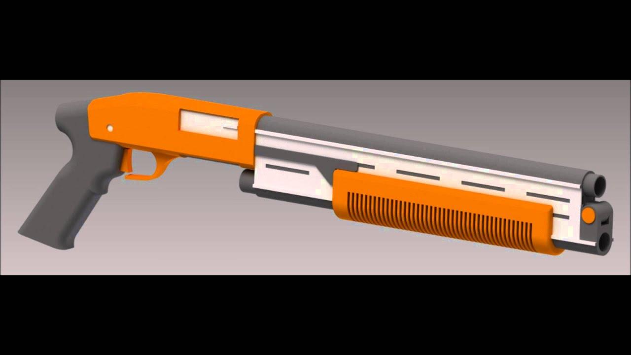 Rwby Weapon Design Dust Shotsword Youtube