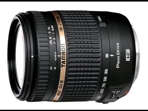 Tamron 18-270mm PZD - Perfect Travel Lens - Hands On Intro