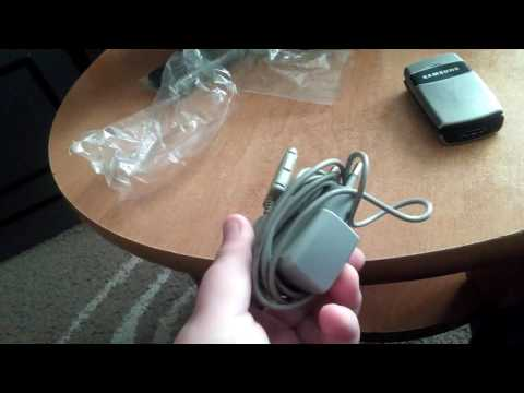 Samsung SGH-X200 Unboxing