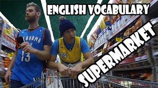 Supermarket - English vocabulary