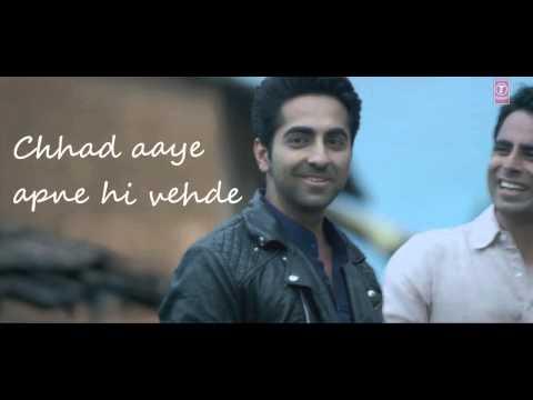 Mitti Di Khushboo LYRICS WITH VIDEO Song   Ayushmann Khurrana   Rochak Kohli