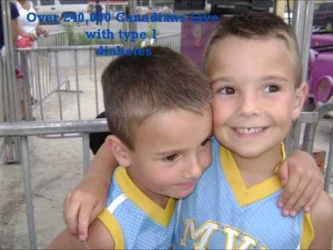 Twins Newly Diagnosed with Type 1 Diabetes -JDRF Walk to CURE !! 2013