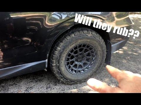 "Bfg Ko 2 >> Will 29"" tires fit a stock Subaru? BFG K02 update! - YouTube"