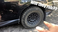 """Will 29"""" tires fit a stock Subaru?  BFG K02 update!"""