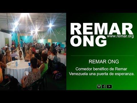 REMAR ONG -  Comedor benéfico de Remar Venezuela una puerta de esperanza.