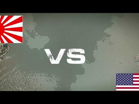 Cities Skylines || WW2 Japan vs. USA meme |