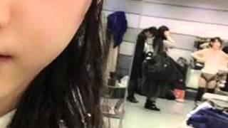 生駒里奈の下着姿映り込み画像、紅白楽屋で写真撮った松井玲奈