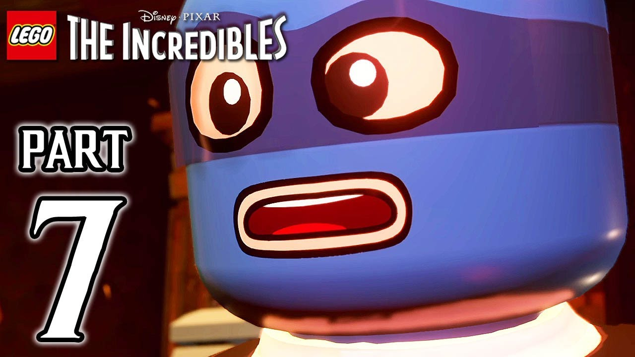 LEGO The Incredibles Walkthrough PART 7 (PS4 Pro) No Commentary @ 1080p HD ✔