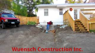 Wuensch Construction Install Of Egress Window In Mound, Minnesota