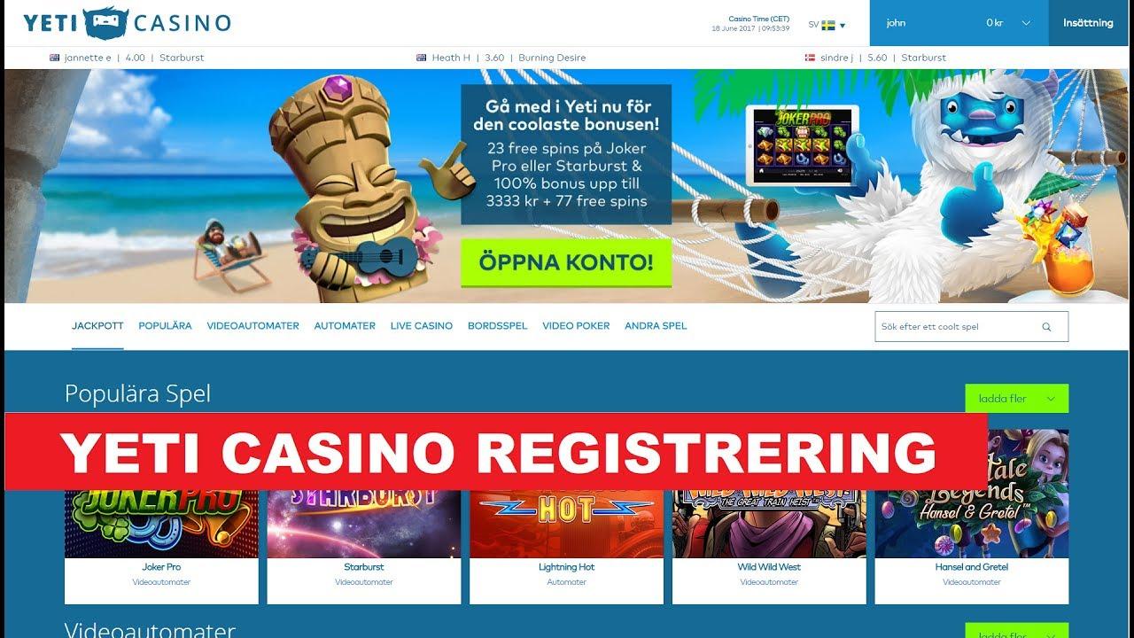 nya casino med free spins 2017